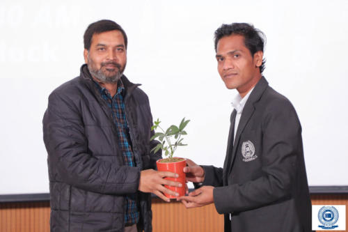 Bollywood Filmmaker interacted with students of Mass Communication